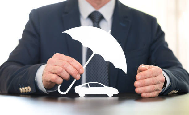 Symbol of auto coverage by a general agent